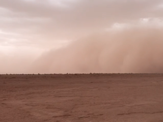 Morocco Dust Storm