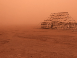 Mineral dust storm in Morocco September (2019)